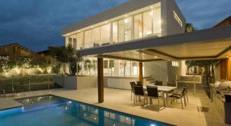Villa with ocean view